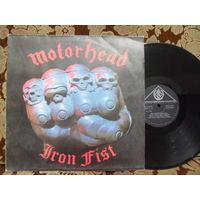 Виниловая пластинка MOTORHEAD. Iron fist.