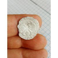 Билонная монета средневековой Франции. Возможно 1/8 экю?