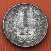 69-07 Польша, 1 злотый 1982 г.