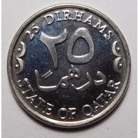 Катар.25 дирхам 2008г.