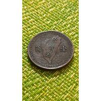 Тайвань 1 чао 1949 г ( редкая )