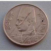 Египет. 1 миллим 1938 год  KM#358