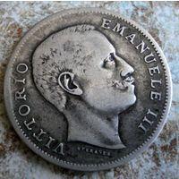 Италия. 1 лира 1902 г.