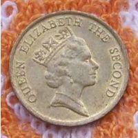 Колония Британии Гонконг 10 центов. Елизавета II. Подписывайтесь! Много новых лотов в продаже!!!