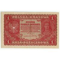 Польша, 1 марка польская 1919 год.