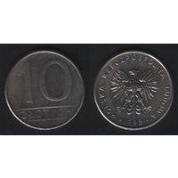 Польша y152.1 10 злотых 1988 год (mw) (h02)