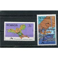 Никарагуа. 75 лет полеты братьев Райт