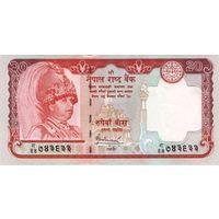Непал 20 рупий образца 2006 года UNC p55
