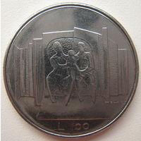 Сан-Марино 100 лир 1976 г. (u)