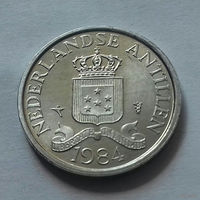 1 цент, Нидерландские Антильские острова, (Антиллы) 1984 г., AU