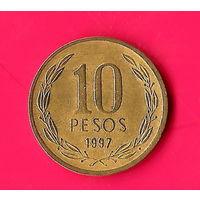 11-26 Чили, 10 песо 1997 г.