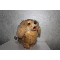 Заводная собака Steiff Штайф Германия. Механическая игрушка с ключиком