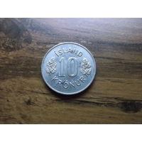 Исландия 10 крон 1978