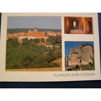 Древний галльский город-крепость Франция 2001