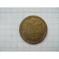 Монако 1 франк без года (1945г.)