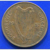 Ирландия 1 пенни 1937