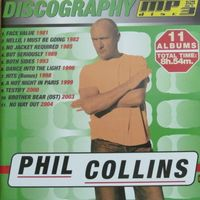 Phil Collins. Discography (mp3 disc)