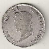 Боливия 4 соль 1857