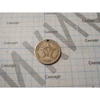 Монета 5 сентаво Куба 1946 г.