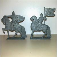 Солдатики коллекционные всадники, Ледовое побоище, одним лотом