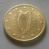 10 евроцентов, Ирландия 2008 г.