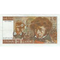 Франция, 10 франков 1978 год