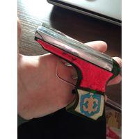 Пистолет зажигалка СССР, зэкпром, редкость, распродажа коллекции, с рубля