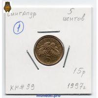 5 центов Сингапур 1997 года (#1)