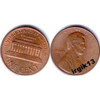 1 цент 1987 года. США