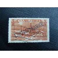 Саар 1929 Промышленность. Служебные. Saar - Mi:DE-SL D32