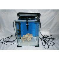 Морской нано аквариум Акваэль Aquael Nano Reef 30 + сухой рифовый камень в подарок