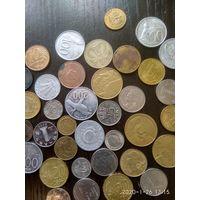 Монеты из разных стран