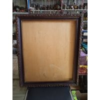 Старая рама для живописи размером 55*45 см +фанера.