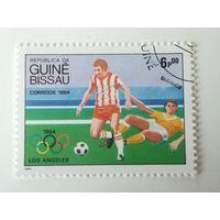 Гвинея Бисау 1984. Олимпийские игры. Футбол