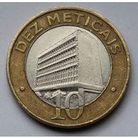 Мозамбик, 10 метикалов 2006 г.
