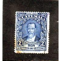 Гватемала.Ми-222.Хусто Руфино Барриос (1835-1885), 9-й президент.Серия: Всемирный почтовый союз (ВПС).1929.