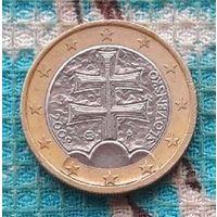 Словакия 1 евро 2009 года.