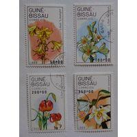Гвинея-Биссау.1989.цветы