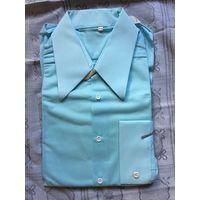 Рубаха рубашка 41-2 капрон нейлоновая 70е гг Новая СССР