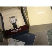 Часы Longines-Swiss Made!Автомат!Диаметр 39мм!