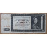 Богемия и Моравия - 1942 - 500 крон (P12р)