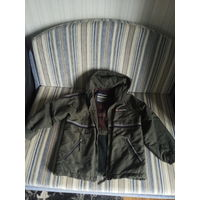 Куртка лёгкая тёплая внесезонная Англия