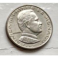 Монако 1/2 франка, 1982  3-4-2