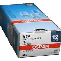 Комплект автомобильных ламп Osram 2821 W2.1x9.5d 10шт