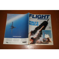 Авиационный журнал FLIGHT INTERNATIONAL  февраль 1987