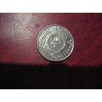 25 центов 1999 года Нидерландские Антильские острова