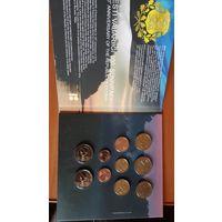 Эстония набор евро 2018 BU (10 монет)  Тираж: 5.000
