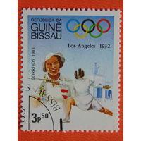 Гвинея - Бисау 1983 г. Спорт.