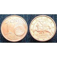 W: Литва 1 евроцент 2016 (1000)