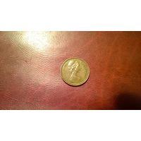 1 пенни 1971 год Великобритания (а)